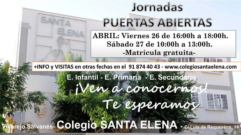 Jornada Puertas Abiertas C. Santa Elena